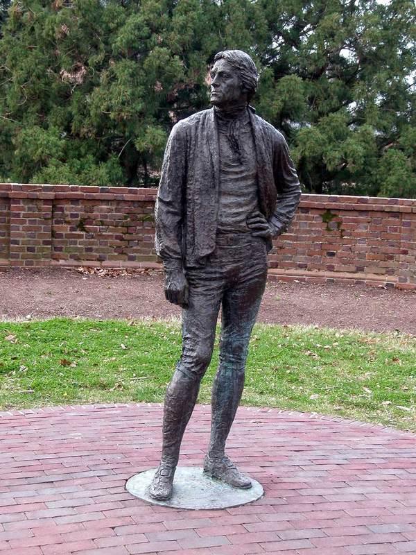 Jefferson statue, undated