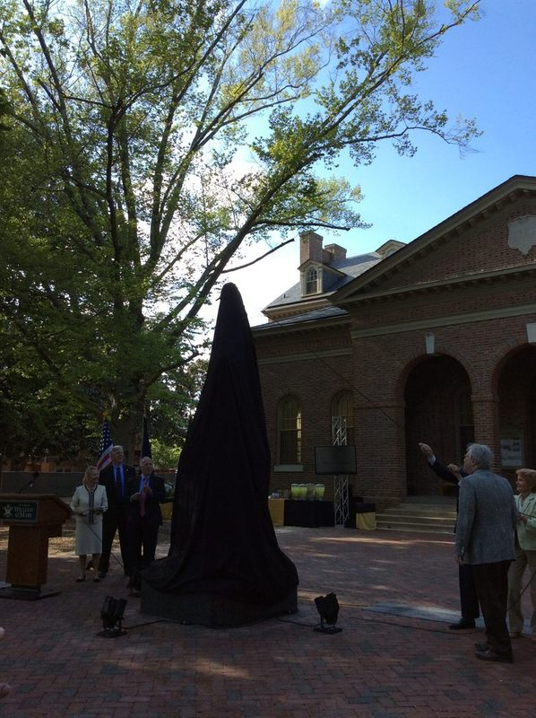 Monroe Statue Dedication, 2015