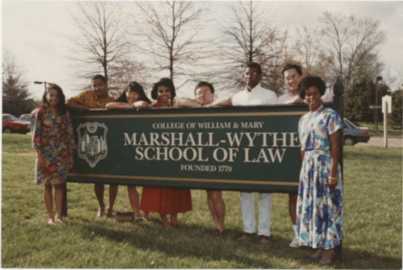 Law School Sign, circa 1981