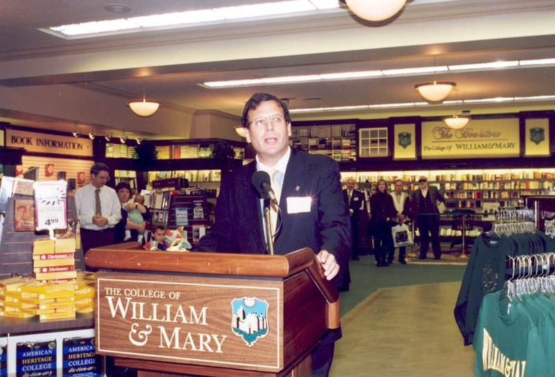 Bookstore Grand Reopening, 1995