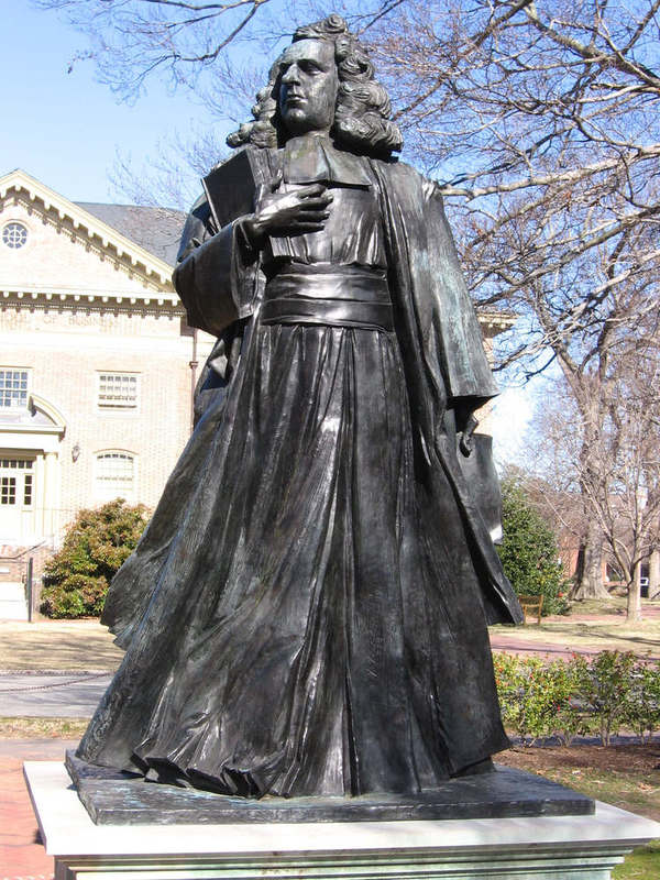 James Blair Statue, undated