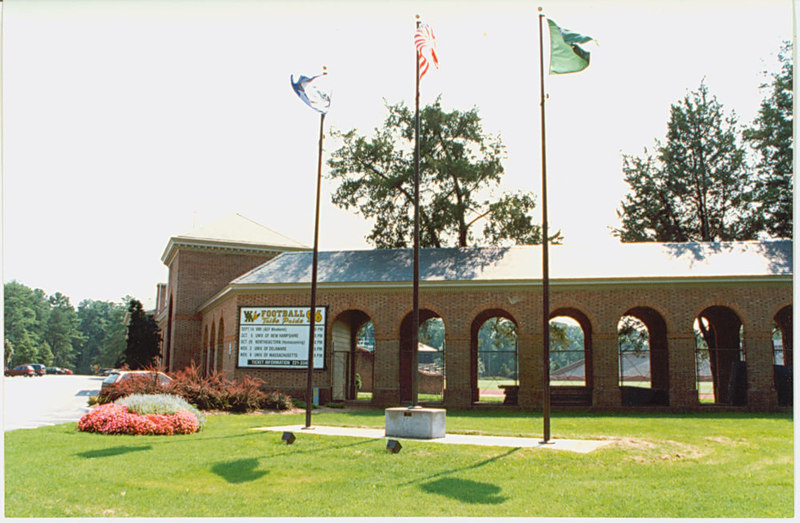 Front of Zable Stadium, 1996