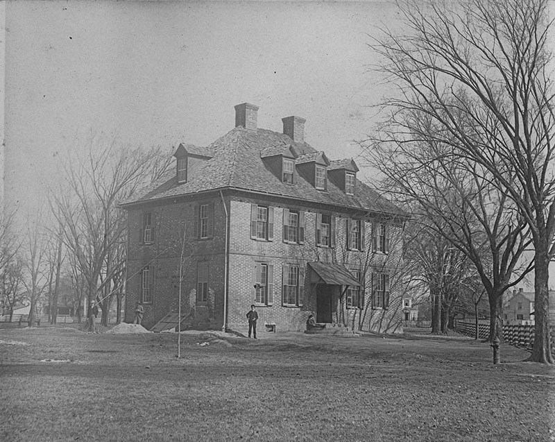 Rear of the Brafferton, 1901