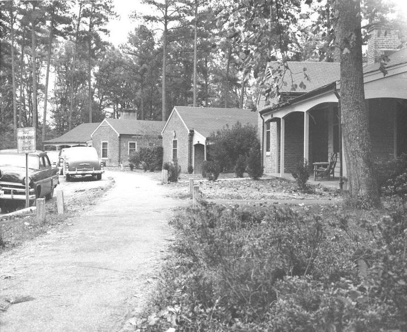 The Lodges, circa 1957