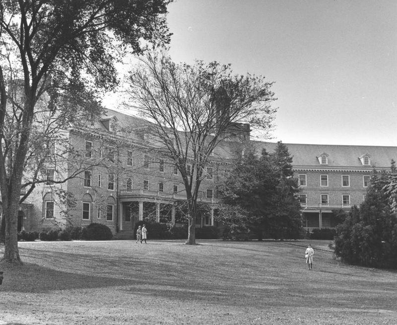 Barrett Hall, circa 1962