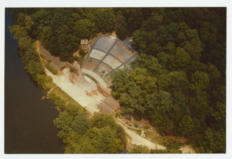 Amphitheatre Aerial, undated