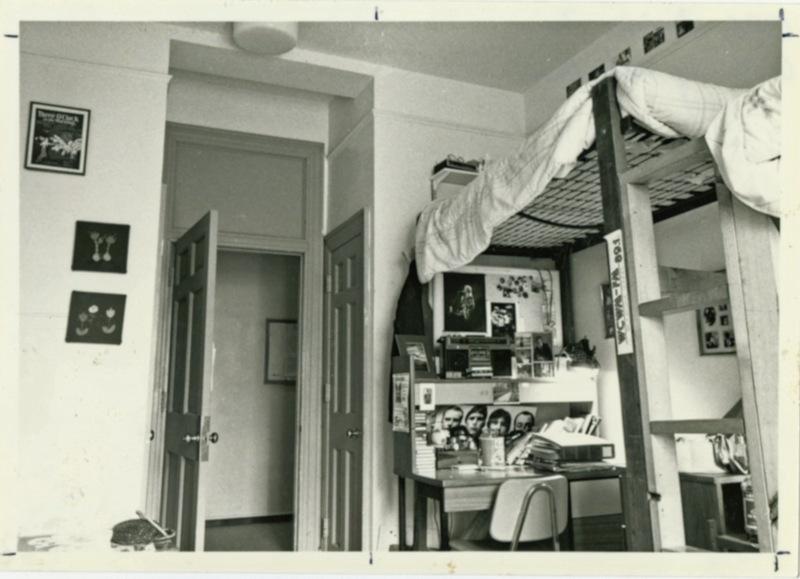 Old Dominion Dorm Room, circa 1982-1986