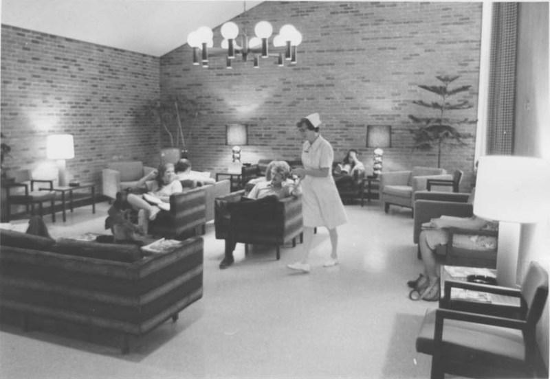 Student Health Center interior, undated