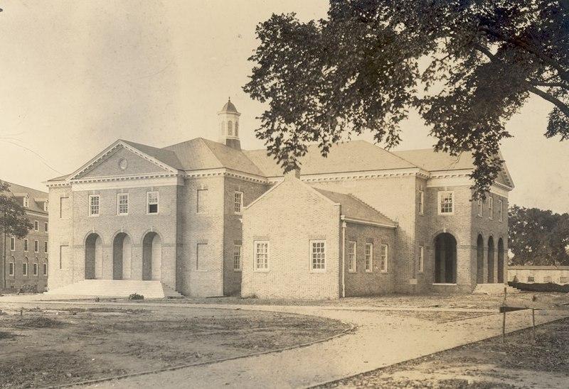 Old Phi Beta Kappa Hall (Ewell Hall), 1926