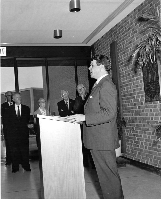Millington Hall Dedication, May 4, 1968
