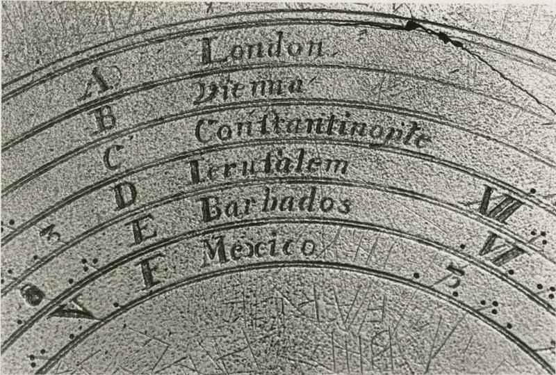 Sundial close-up, undated