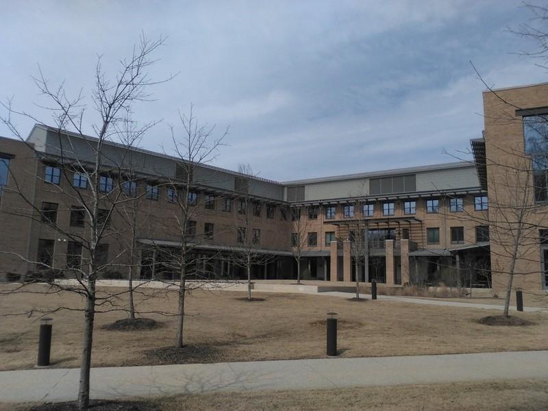 School of Education Exterior, 2015