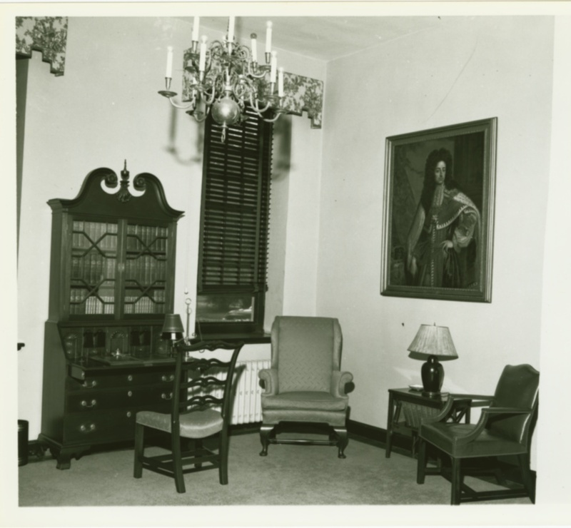 Brafferton interior, 1951
