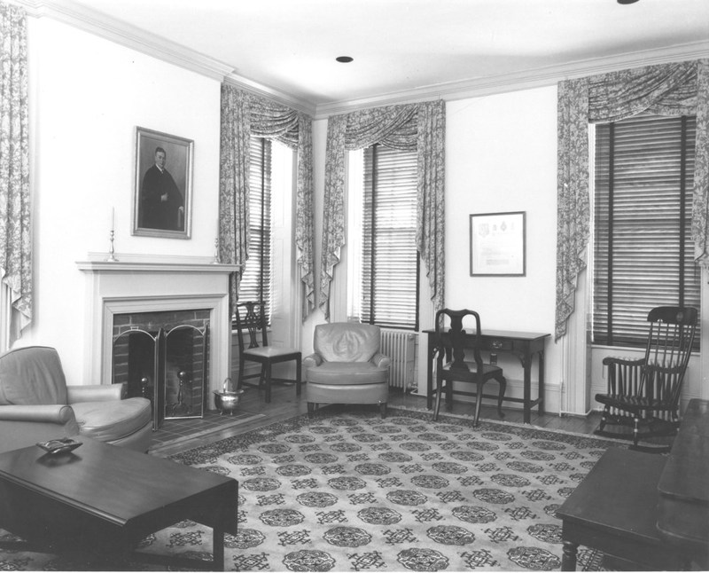 Alumni House interior, undated