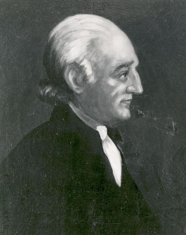 Photograph of a painting of George Wythe, undated