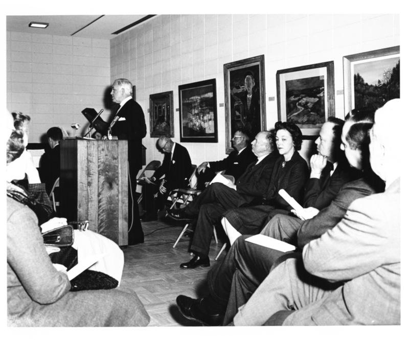Andrews Hall Dedication, February 1967