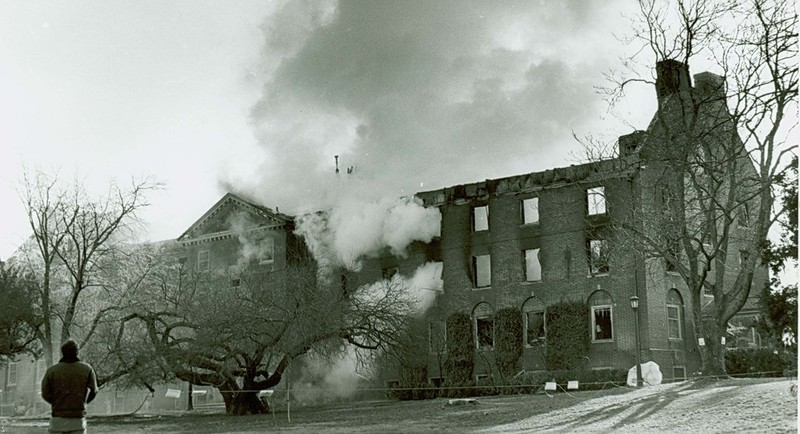 Jefferson Hall fire, January 1983
