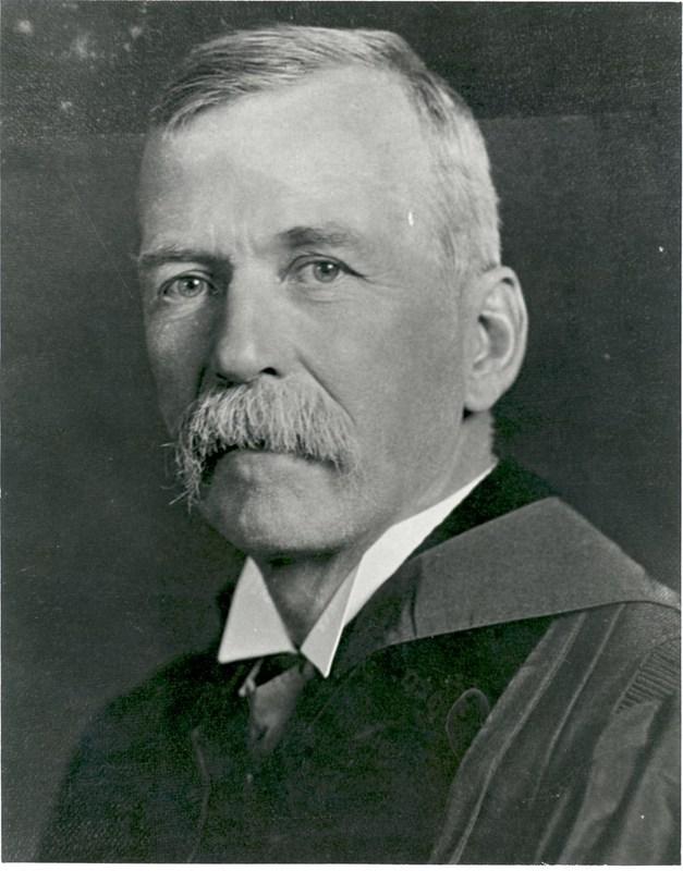 Photograph of a portait of Lyon Gardiner Tyler, undated