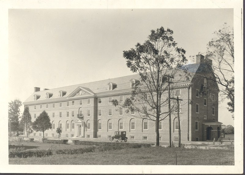 Jefferson Hall, circa 1924