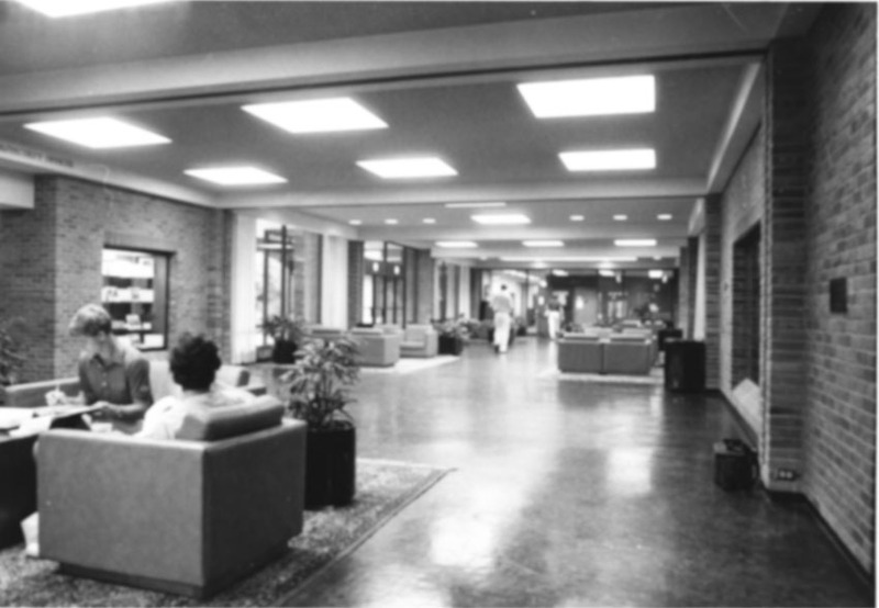 Marshall-Wythe Lounge Area, undated