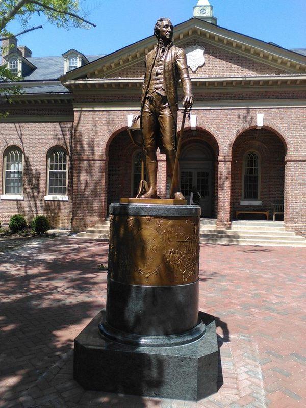 James Monroe Statue, 2015