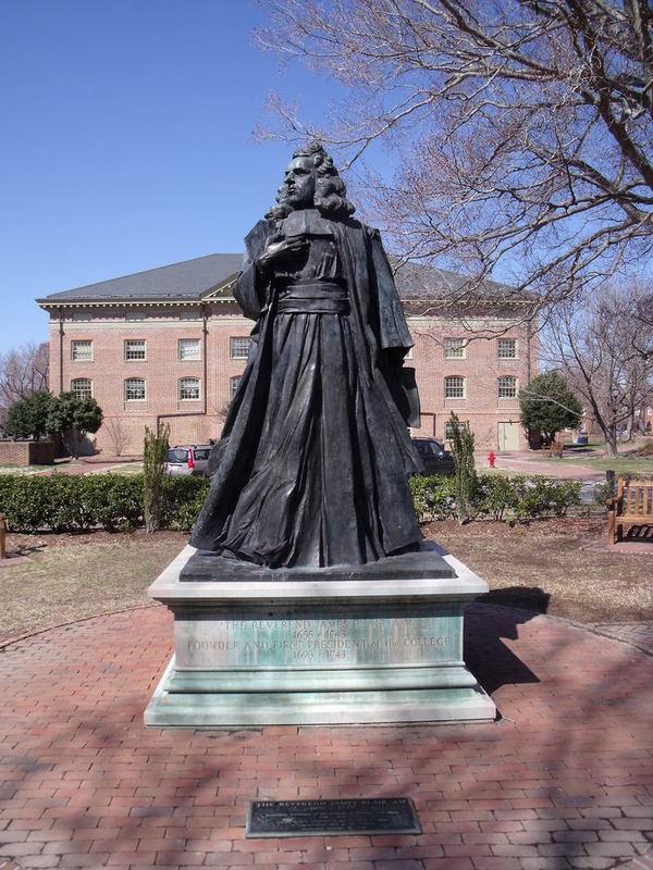 James Blair Statue, 2015