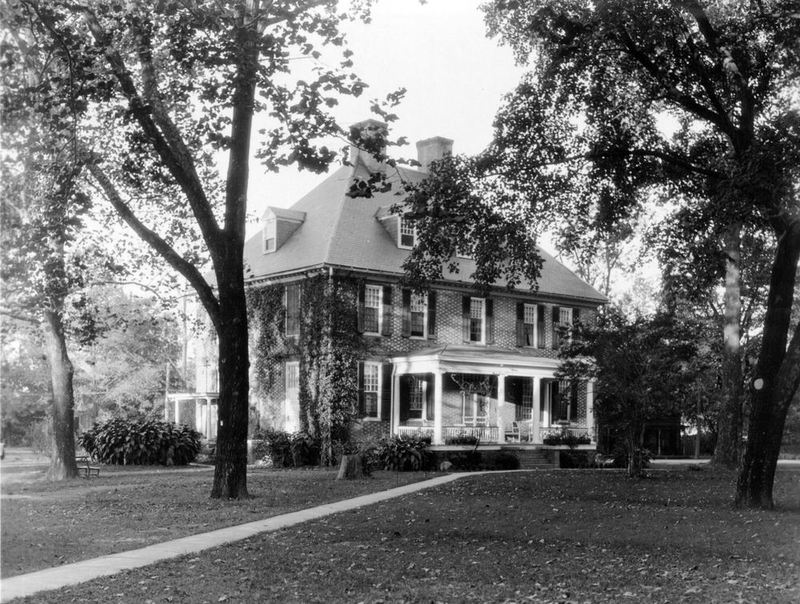 Front of the President's House, circa 1922-1925