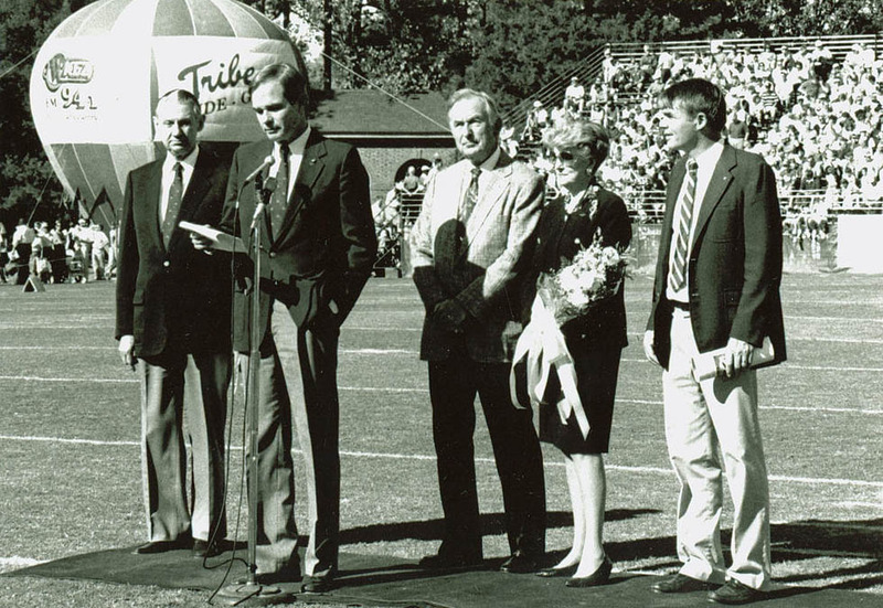 Zable Stadium Dedication, 1990