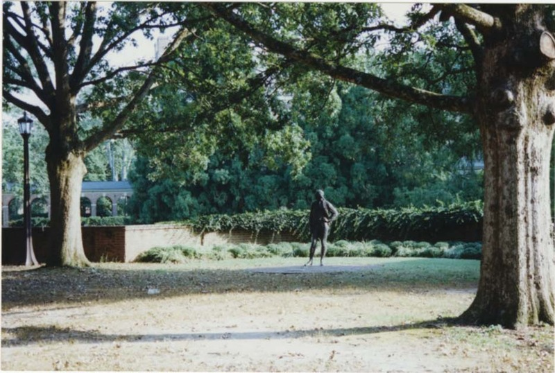 Jefferson statue, 1999