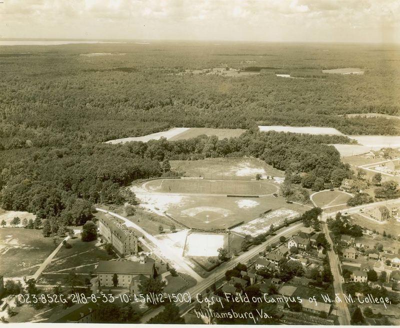 Cary Field aerial, circa 1933