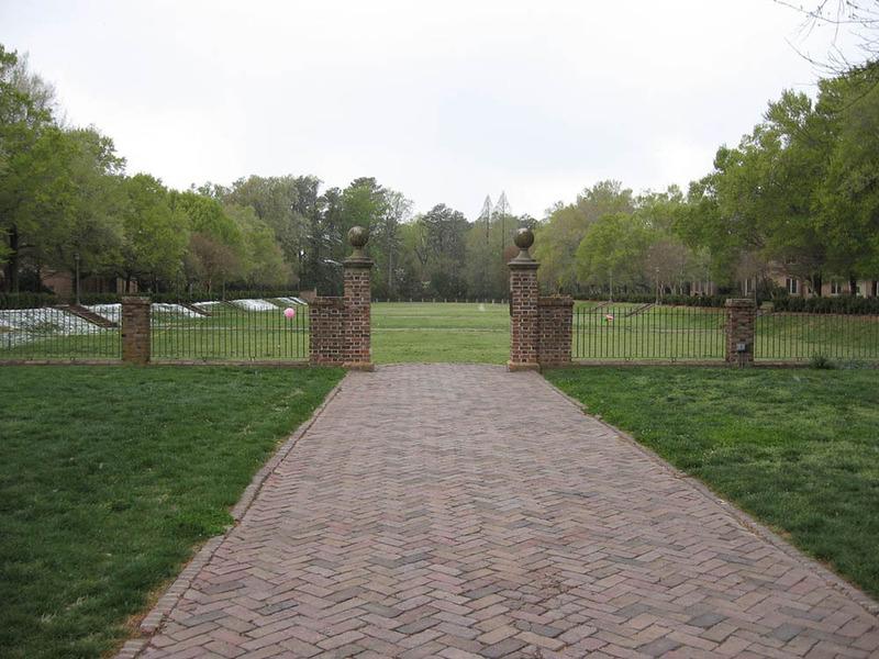 Sunken Garden, circa 2007