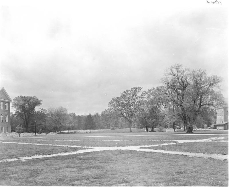 Pre-Sunken Garden, circa 1935