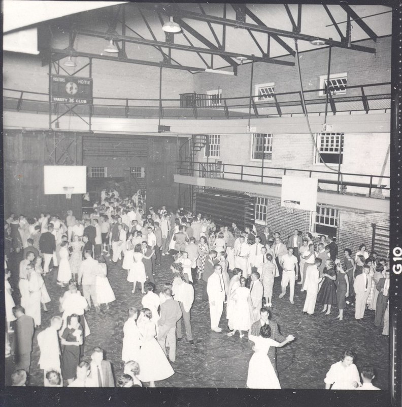 Dance in Blow Gym, circa 1956