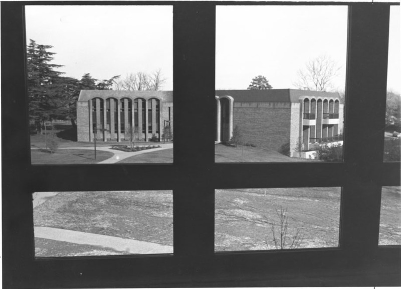 Law School exterior, undated
