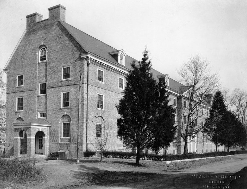 Jefferson Hall, circa 1920