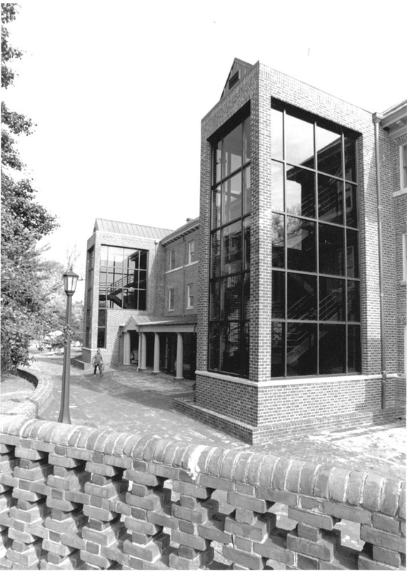 Reves Center addition, undated