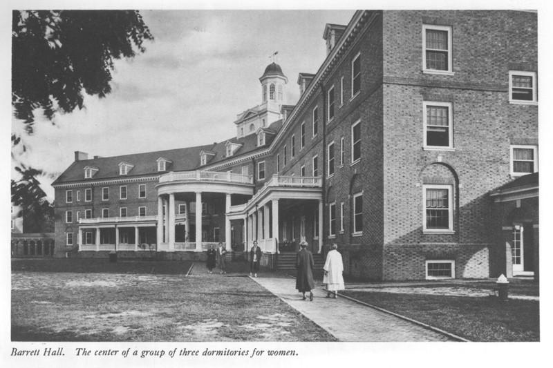 Barrett Hall, circa 1950