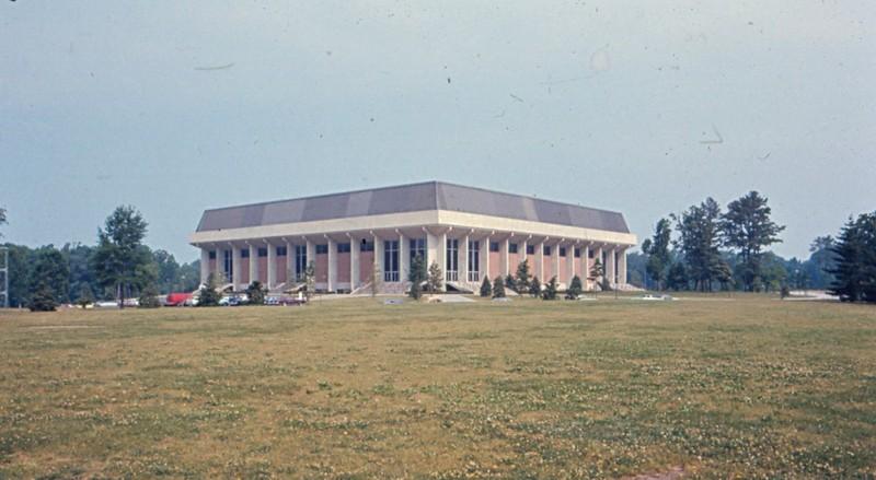 William & Mary Hall, 1977