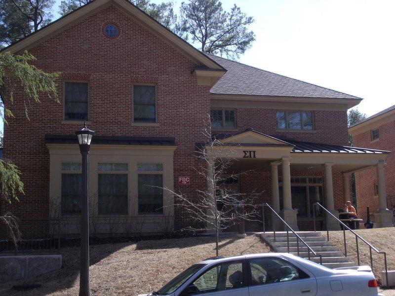 Sigma Pi House, 2015