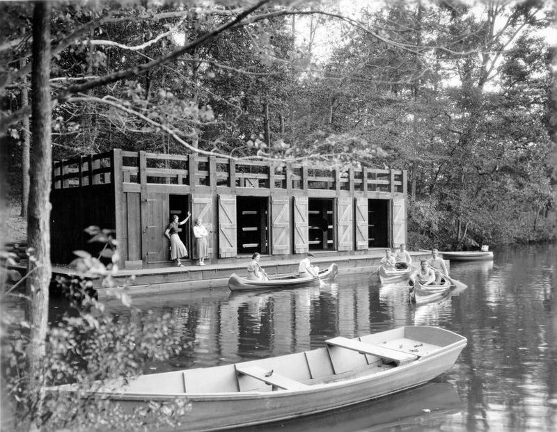 Lake Matoaka Boathouse, 1935