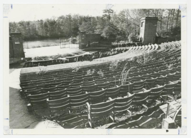 Martha Wren Briggs Amphitheatre at Lake Matoaka, 1979