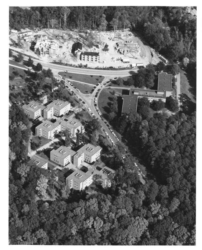 Botetourt Complex aerial, circa 1980