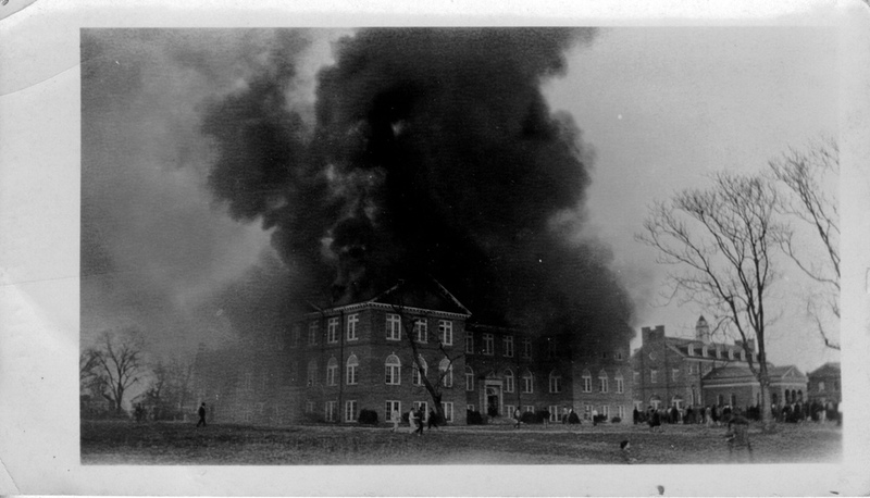 Chancellors Hall fire, 1930