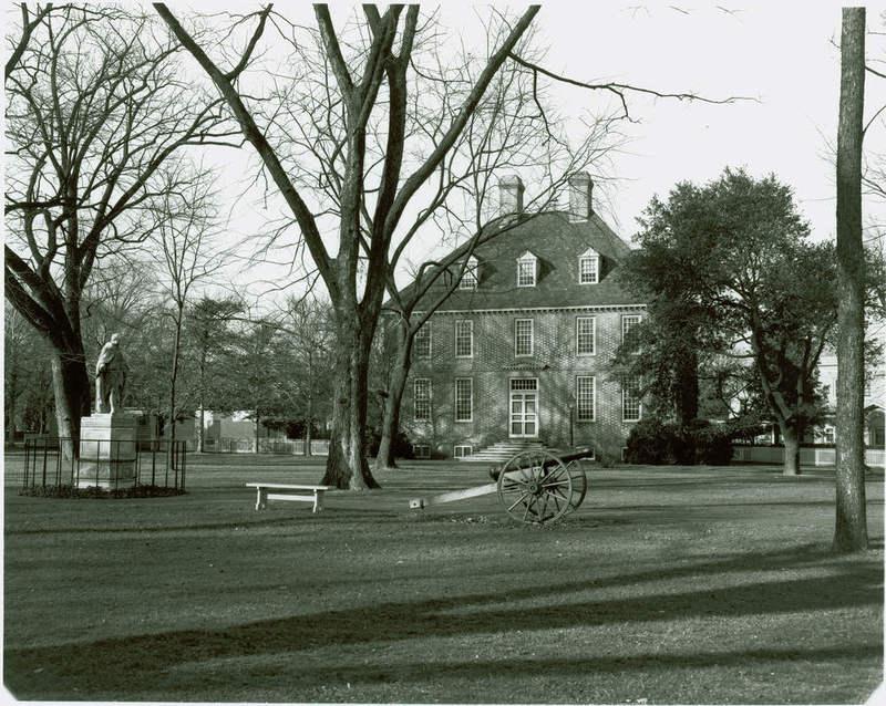 Southwest Facade of President's House, Circa 1954