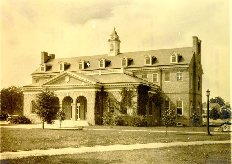 Old Library, 1930