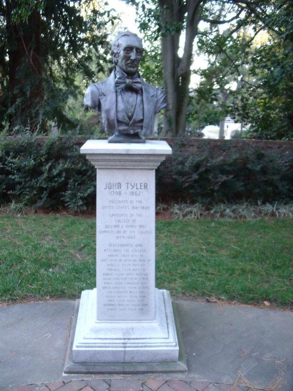 John Tyler Statue, 2011