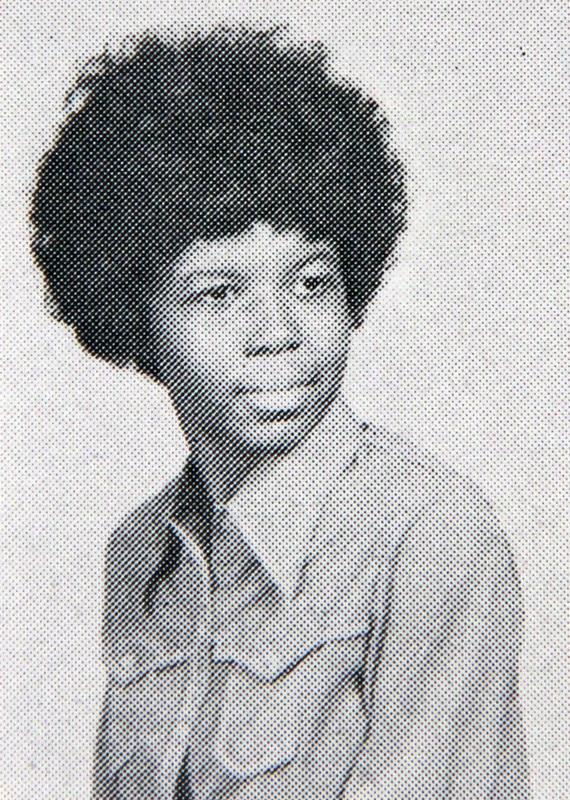 Karen Ely's Yearbook Photo, 1971
