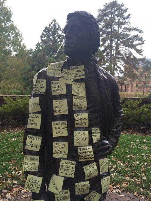 Thomas Jefferson Statue, 2015