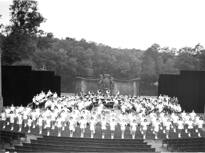 Common Glory band concert, circa 1960