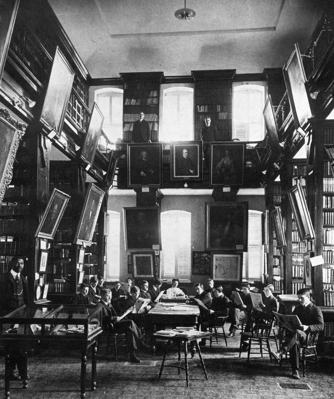 Wren Library, 1888